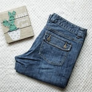 Michael Kors Boot leg Denim jeans